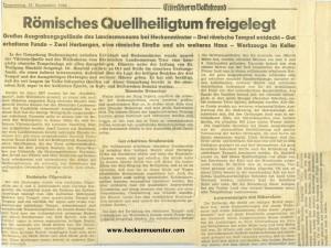 Zeitungsbericht-1966-Quellheiligtum-Bericht